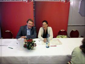 Olaf Schulze und Nina Scheer