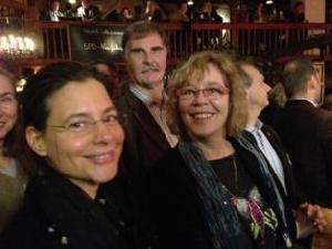 Nina Scheer; Reinhard Niegengerd, stellvertretender Kreisvorsitzender SPD Stormarn; Susanne Danhier, Kreisvorsitzende SPD Stormarn