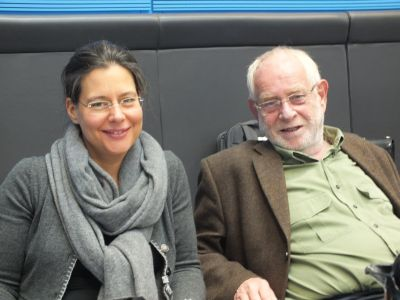 Nina Scheer und Eckhard Kuhlwein