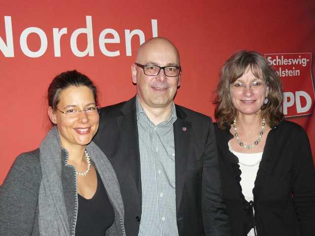 Nina Scheer, Torsten Albig, Kathrin Wagner-Bockey