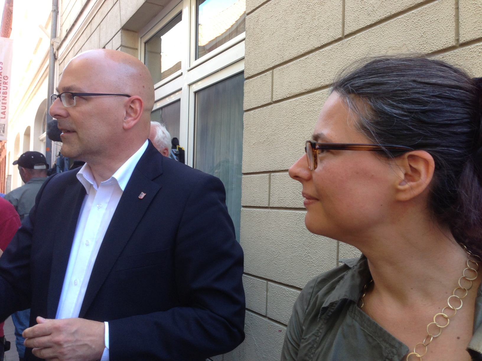 Torsten Albig und Nina Scheer