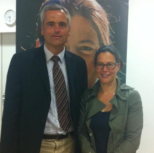 Andreas Breitner und Nina Scheer