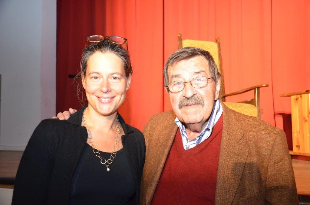Nina Scheer und Günter Grass