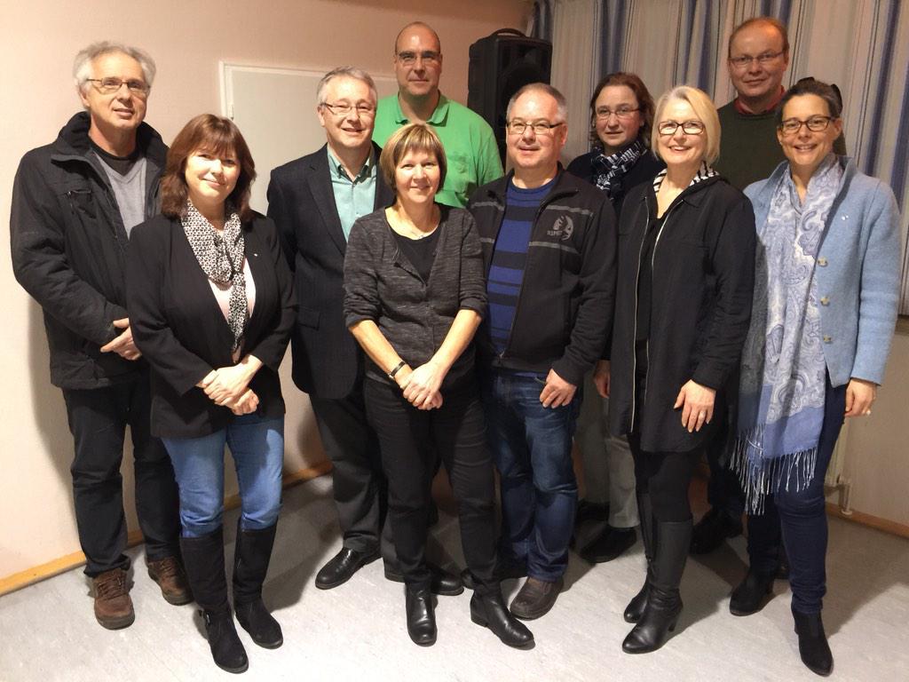 Foto: u.a. Sandra Redmann, MdL (2.v.l.), Michael Grönheim, Bürgermeister von Berkenthin (3.v.l.), Petra Rehse (Vorsitzende der SPD Berkenthin, 4.v.l.), Dr. Nina Scheer, MdB, Christoph Otte, Gabriele Hiller-Ohm, MdB (v.r.n.l.)