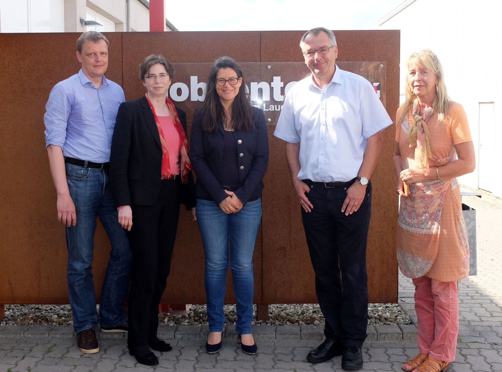 Foto: v.l.n.r.: Wellmann, Grote-Seifert, Scheer, Elsweier, Meyer-Hamann