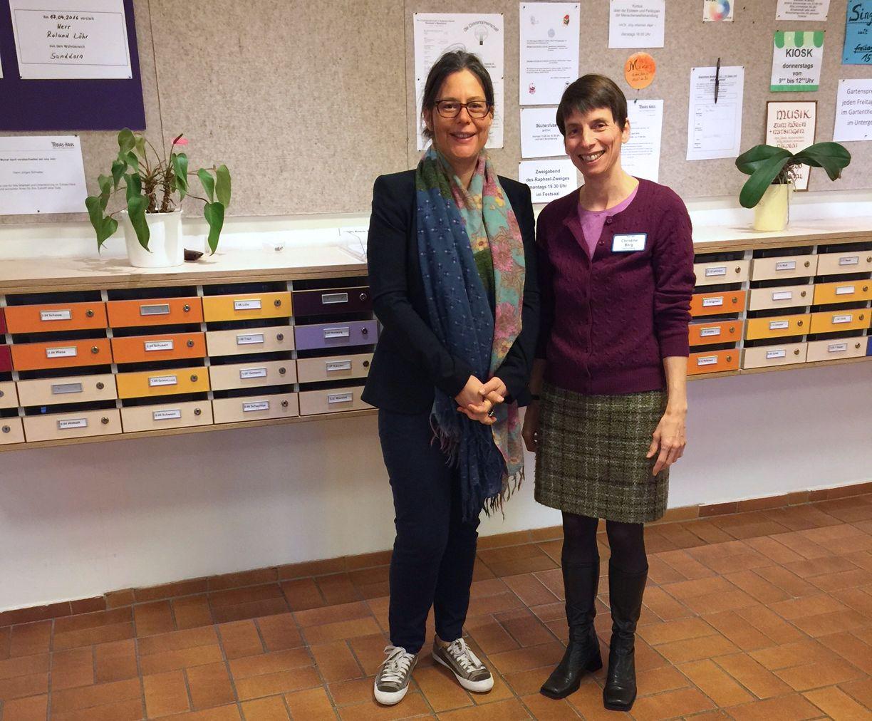 v.l.: Nina Scheer, Christine Berg