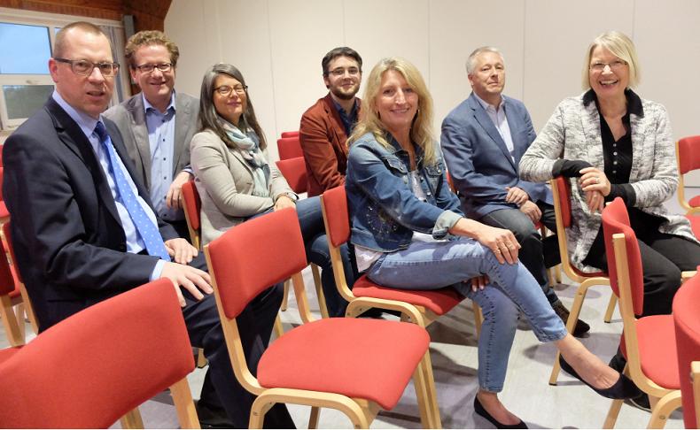 Foto: Ulrich Keller, Martin Habersaat, Nina Scheer, David Welsch, Gitta Neemann-Güntner, Michael Grönheim, Gabriele Hiller-Ohm